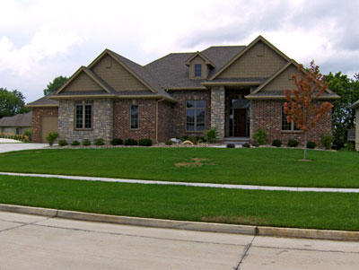 Boesen Homes Custom Home in Des Moines, Iowa